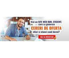 Creare site web, magazin online, optimizare Seo
