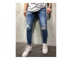Blugi barbati conici skinny model 2018