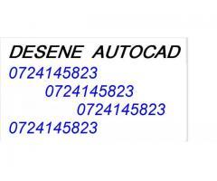 Desene AUTOCAD execut, modific,actualizez=0724145823