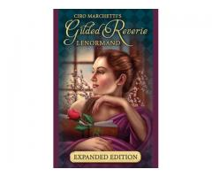 Carti tarot Gilded Lenormand Expanded Edition +cadou cartea in limba romana