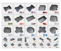 Matrite pavele, forme 3D garduri plastic termoformate