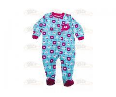 Pijamale cu botosei din bumbac Race Kids