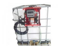 Bazin Rezervor IBC Cu  Pompa motorina