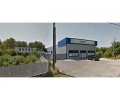 Spatiu industrial si teren 3239 mp, Ulmi
