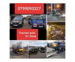 Oferim Tractari Auto Deva & Asistenta rutiera