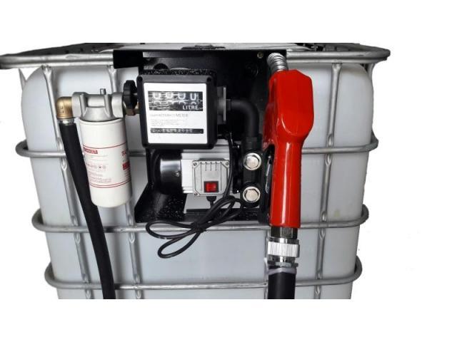 Bazin cu Pompa Motorina 600-1000 Litri cu tva transport