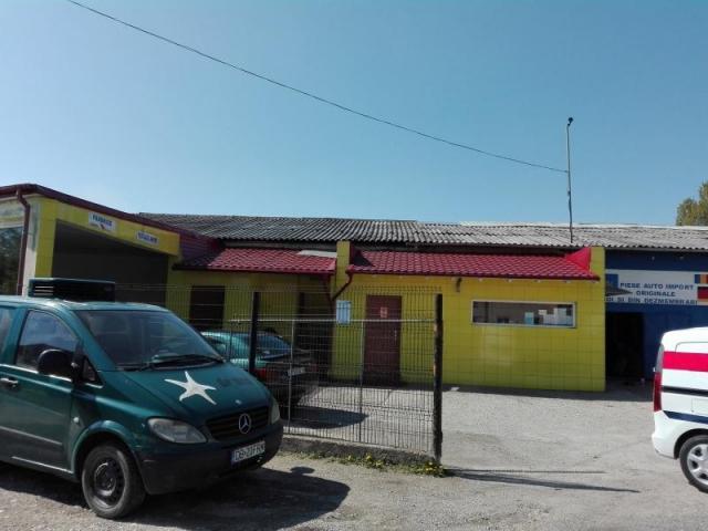Teren 1117 mp si constructii industriale, Targoviste, Dambovita