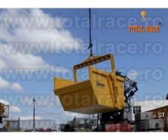 Utilaj constructii bena turnat beton stoc Bucuresti