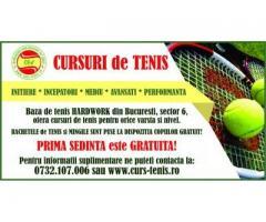 Cursuri tenis de camp cu antrenor licentiat