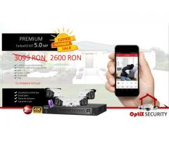 Kit camere supraveghere video 4k 5MP HIKVISION