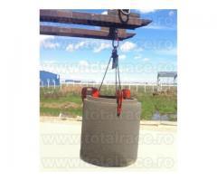 Clesti de ridicare, clesti tuburi beton