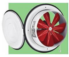 Bk – ventilator axial cu capac