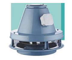 Brcf-m –ventilator direct drive pentru acoperis (evacuare orizontala)