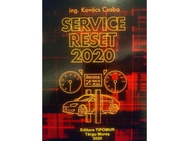 Carte Manual Service Reset 2020