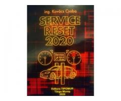 Carte Manual Service Reset 2020