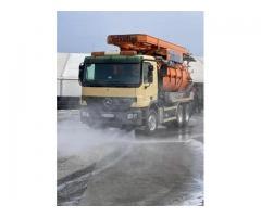 Servicii dezinfectie si spălare drumuri