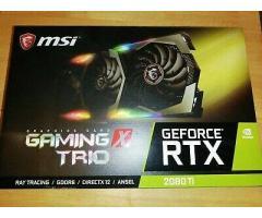De vânzare MSI Rtx 2080Ti 11GB X Trio / 1080ti