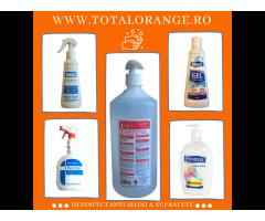 Dezinfectanti maini Total Orange