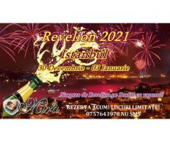 Revelion 2021 pe Bosfor Istanbul