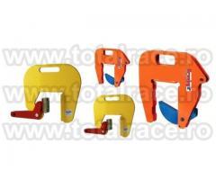 Dispozitive de transport a tuburilor de beton cu clesti de ridicare