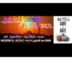 Vacanta ta de 01 Mai 2021 in Istanbul