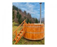 Ciubar din lemn , hot tub, 100% garantat, calitate superioara