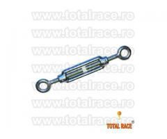 Intinzatoare cablu cu doua ochiuri de prindere Total Race