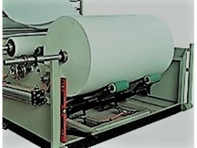 Derulator role hartie, banzic, utilaj tuburi carton