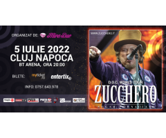 Concert Zucchero – Cluj Napoca - 05 Iulie 2022