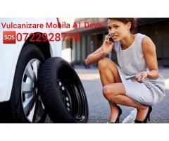 Vulcanizare mobila non-stop 24/7 – A1- DEVA - 0722928778